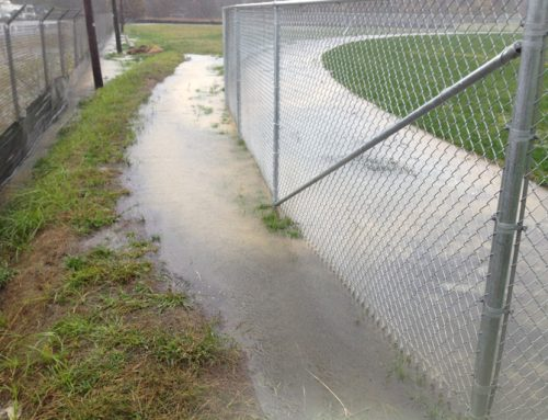 Drainage problems corrected at Multi-Field Athletic Complex