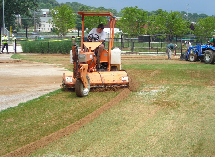 Creative Alternative - Athletic Fields - Grove Teates, Alpine Services, Inc.